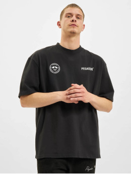 PEGADOR T-paidat Mike Oversized Vintage  musta