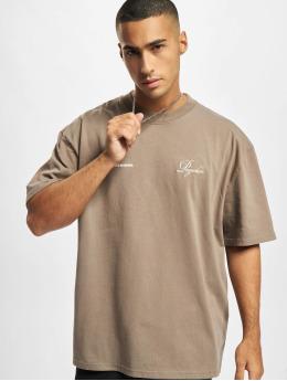 PEGADOR T-Shirt Written History Oversized beige
