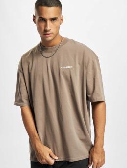 PEGADOR T-Shirt Logo Oversized brown