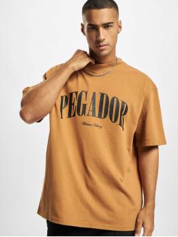 PEGADOR T-Shirt Cali Oversized brun