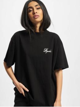 PEGADOR t-shirt Ripple Oversized zwart