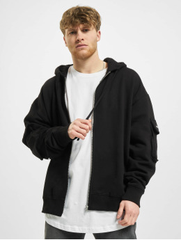 PEGADOR Zip Hoodie Colorado Utility Oversized  black