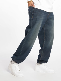 Pelle Pelle Baggy jeans Double P Denim blå