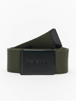 Pelle Pelle Ceinture Coated Core-Porate olive