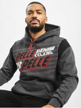 Pelle Pelle Hoodie Upwards  grå