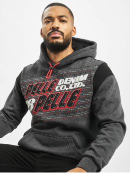 Pelle Pelle Hoodies Upwards  šedá