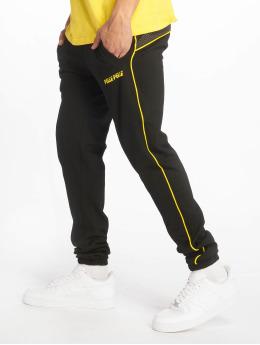 Pelle Pelle Jogging kalhoty Sayagata Swing čern