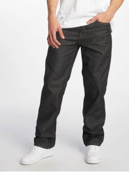 Pelle Pelle Loose Fit Jeans Baxter čern