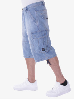 Pelle Pelle Short Denim Cargo bleu