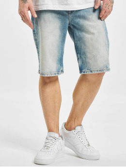Pelle Pelle Shorts Buster Loose Denim blau