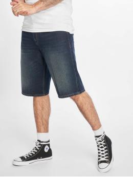 Pelle Pelle shorts Double P Denim blauw