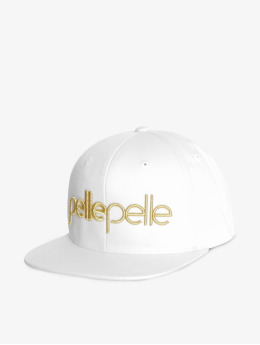 Pelle Pelle Snapback Cap Recognize bianco
