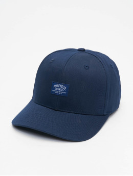 Pelle Pelle Snapback Caps Core Label Curved sininen