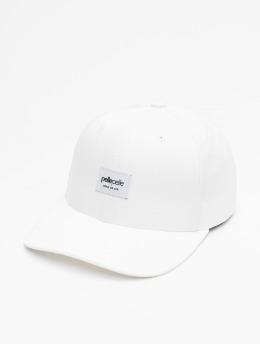 Pelle Pelle Snapback Caps Core-Porate Curved valkoinen