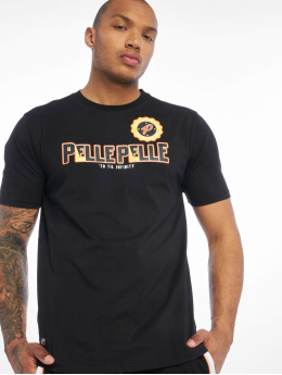 Pelle Pelle T-Shirt Infinity Solid  noir