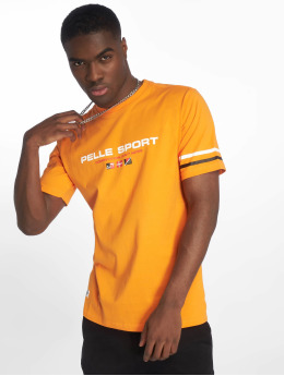 Pelle Pelle t-shirt No Competition oranje