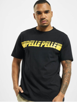 Pelle Pelle t-shirt Sayagata  zwart