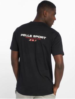 Pelle Pelle T-skjorter Double Take svart