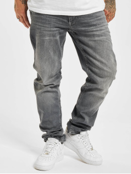 Petrol Industries Jean coupe droite Denim Tapered Regular Straight Fit gris