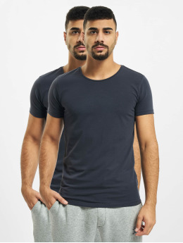 Petrol Industries T-Shirt Basic R-Neck 2-Pack blau