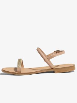 Pieces Badesko/sandaler psMiya beige