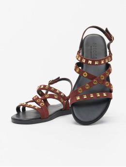 Pieces Badesko/sandaler psNantale brun