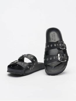 Pieces Badesko/sandaler pcCaia  svart