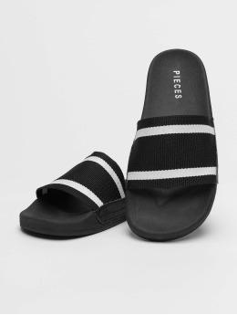 Pieces Badesko/sandaler pcCalina svart