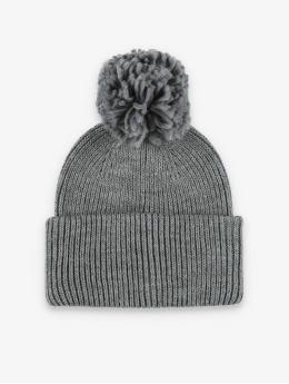 Pieces Bonnet hiver pcIlma Hood gris