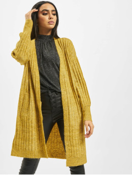 Pieces Cardigan pcNew Sanni Noos Knit yellow