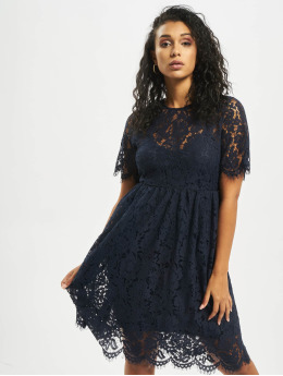 Pieces Dress pcGaia 2/4 Midi Lace blue