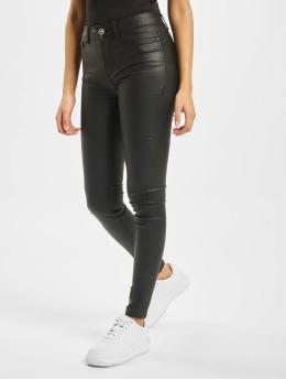 Pieces Jean skinny pcShape Up Ultra Mid Waist Coated  noir