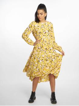 Pieces jurk pcMegan Medi geel