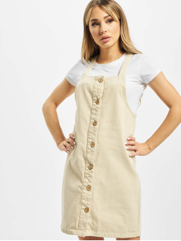 Pieces Kleid pcAsli Colored Pinafore beige