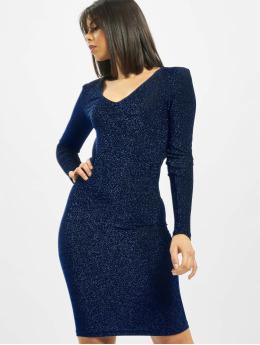 Pieces Kleid pcJiza blau