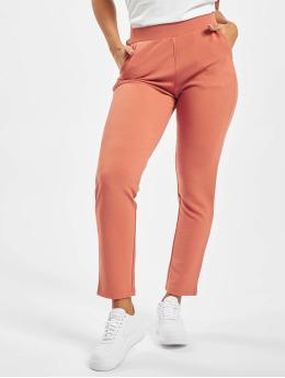 Pieces Látkové kalhoty pcChristina  oranžový