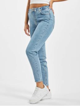 Pieces Mom Jeans pcLeah Ankle Elastic Waist LB153 BC blå