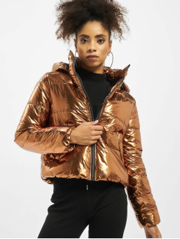 Pieces Puffer Jacket pcIlse brown