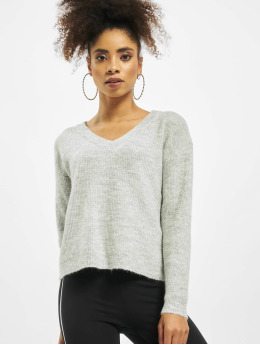 Pieces Pullover cElla Noos Knit gray