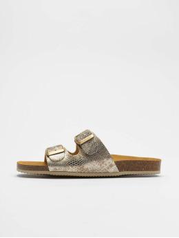 Pieces Sandals pcCoco Suede gold