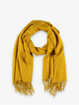 Pieces Scarve pcKial Long yellow