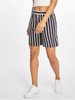 Pieces shorts pcBora Medium Waist blauw
