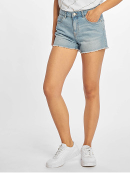 Pieces shorts pcAlma blauw
