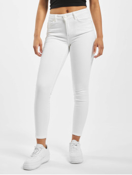 Pieces Skinny Jeans pcDelly  bialy