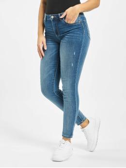 Pieces Skinny Jeans pcJamie blau