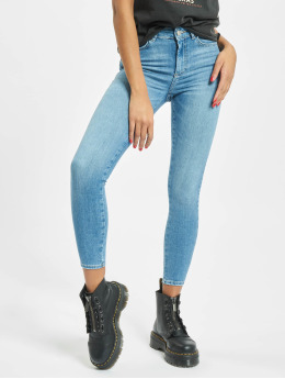 Pieces Skinny jeans pcDelly Medium Waist Noos blauw