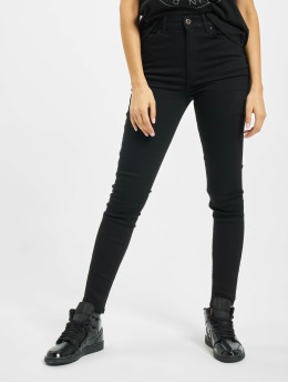 Pieces Skinny Jeans pcNora High Waist Ankle Noos schwarz
