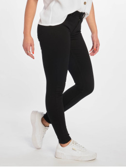 Pieces Skinny jeans pcDelly Dlx B247 Stay Mw zwart