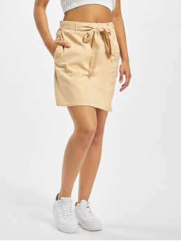 Pieces Skjørt pcAlinen High Waist beige