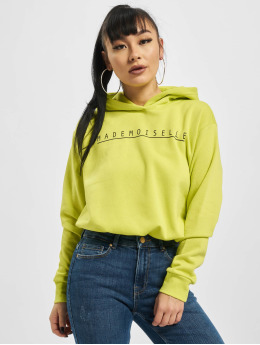 Pieces Sweat capuche pcIlma Cropped jaune